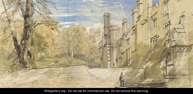 The Terrace, Haddon Hall, Derbyshire - David Cox