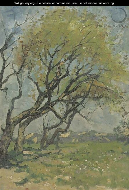 Trees in spring - Cornelis Kuypers