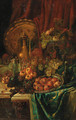 An elaborate still life - Continental School