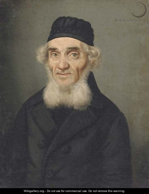 Portrait of a rabbi - Continental School