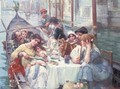 Lunch on the canal, Venice - Continental School