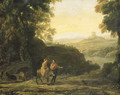 The Flight into Egypt - Claude Lorrain (Gellee)