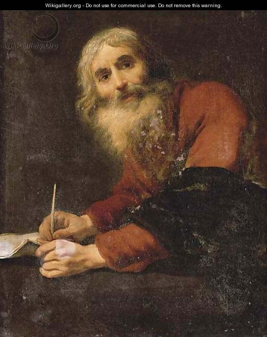 Saint Luke the Evangelist - Claude Vignon