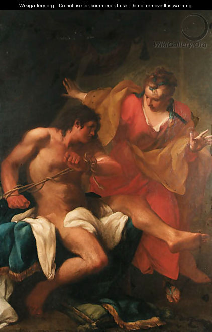 Samson and Delilah - (after) Ubaldo Gandolfi