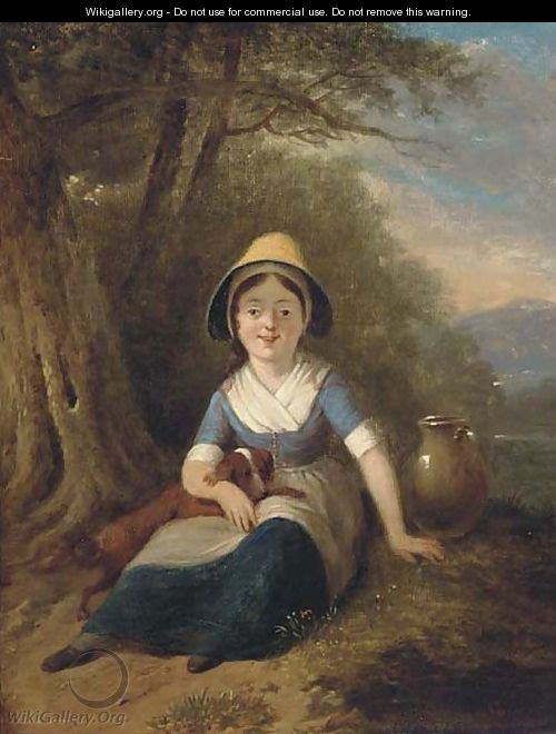 The little water-maid - (after) William Collins