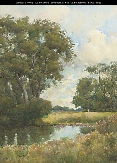 A peaceful stretch of the river - English School