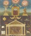 A Masonic composition - English School