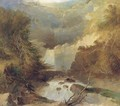 Katterskill Falls, North America - English School