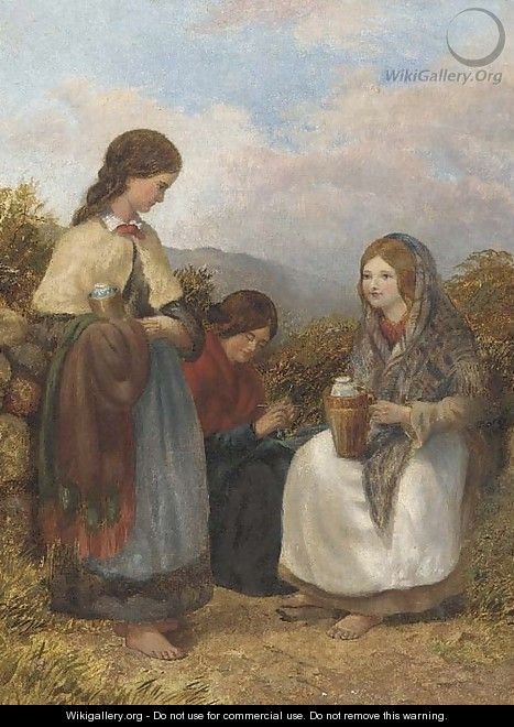 Harvesters resting - English School