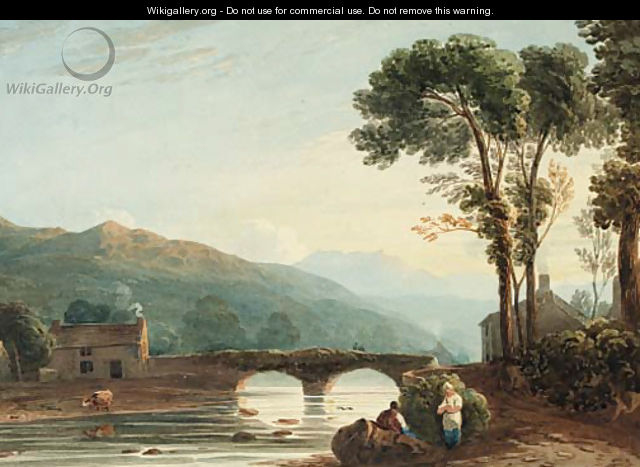 Evening, North Wales - English School