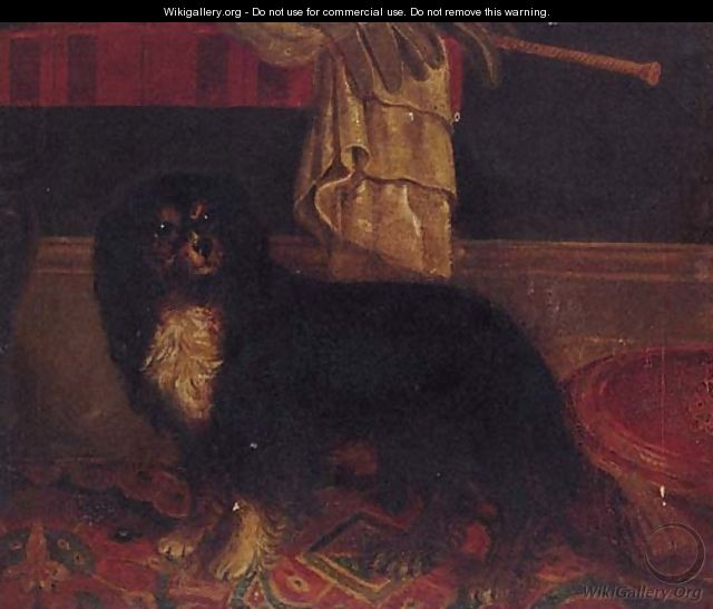 A King Charles Spaniel 2 - English Provincial School
