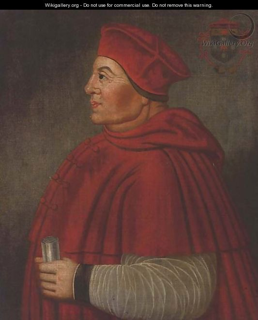 Portrait of Cardinal Thomas Wolsey (1475-1530) - English School