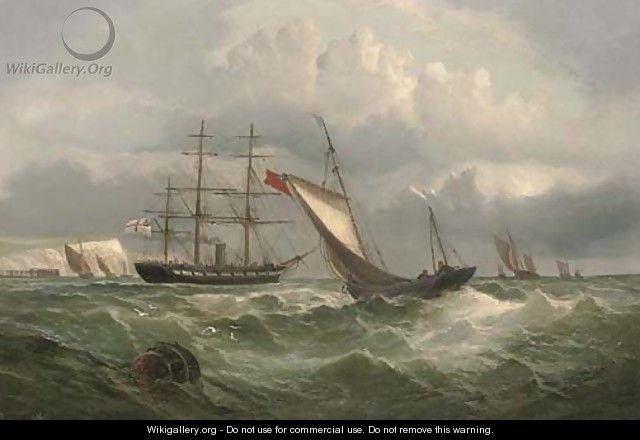In the Channel off Dover - English School
