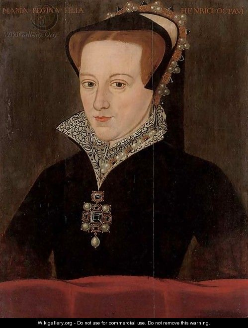 Portrait of Queen Mary I (1516-1558) - English School