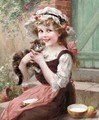 The Little Kittens - Emile Vernon