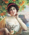 A young beauty - Emile Vernon