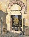 An Old Moorish Gateway - Cordova, Spain - Edwin Lord Weeks