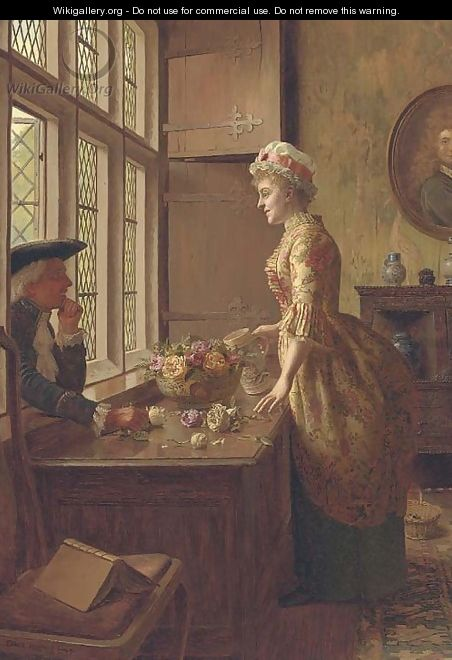 Love at the window - Edwin Hughes