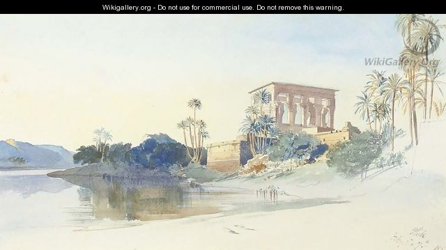 Philae, Egypt - Edward Lear