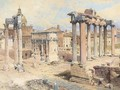 The Forum, Rome - Edward Pritchett