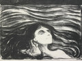 On the Waves of Love - Edvard Munch