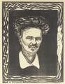 August Strindberg 2 - Edvard Munch