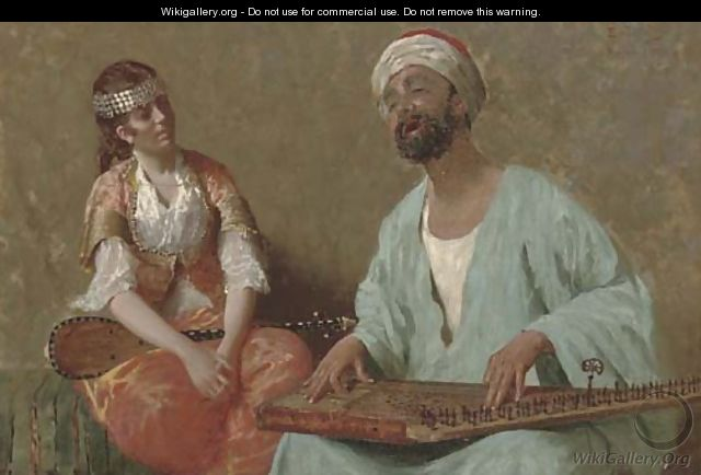 A tune on the sitar - Eduardo Galli