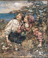The Sound of the Lark - Edward Atkinson Hornel