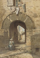 The Norman Arch, Old Town, Hyeres - Edward Henry Fahey