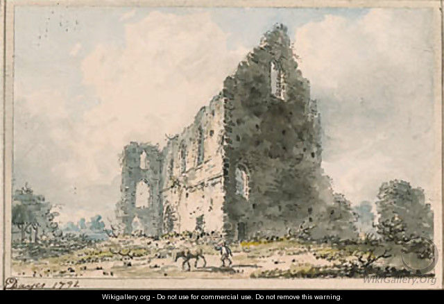Newark Priory, Ripley, Surrey - Edward Dayes