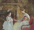 Mrs. George Putnam and Her Daughters - Edmund Charles Tarbell
