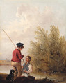 The Young Fisherman - Edmund Bristow