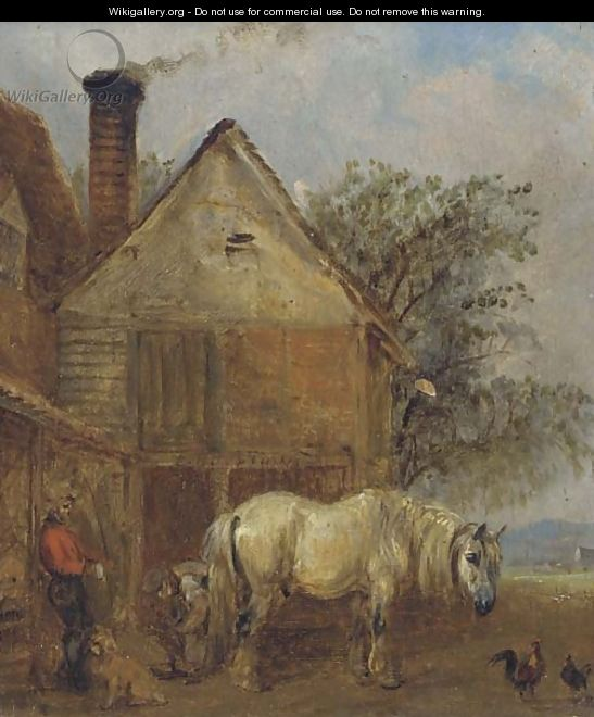 The farrier - Edmund Bristow