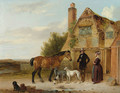 Setting off for the Morning Ride - Edmund Bristow