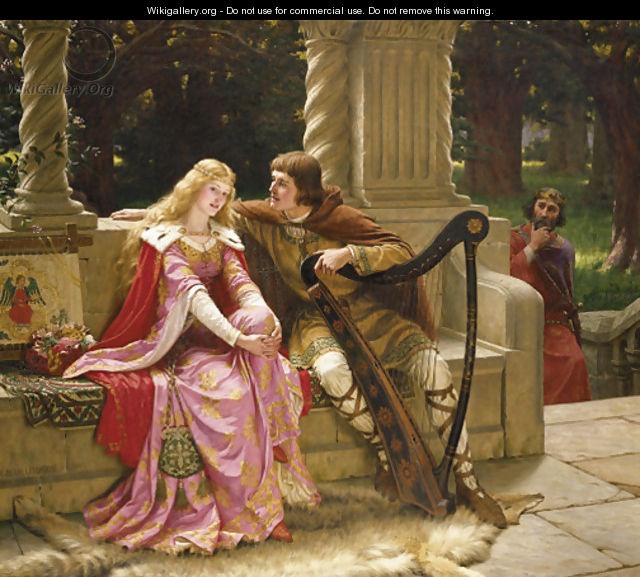 The End of the Song - Edmund Blair Blair Leighton
