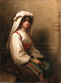 Portrait of a woman 2 - Eastman Johnson