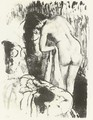 Nude Woman Standing, Drying Herself - Edgar Degas