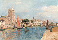 The port of Sables d'Olonne - Edmond Marie Petitjean