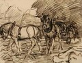 The Ploughing Team - Robert Polhill Bevan