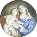 Madonna And Child - Anna Maria Carew
