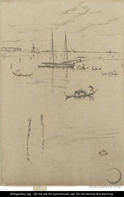 The Little Lagoon - James Abbott McNeill Whistler