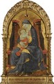 The Madonna And Child Enthroned - Paolo Uccello