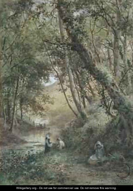 By the Stream - James George Bingley