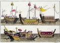 Examples of Chinese ships - Giovanni Bigatti