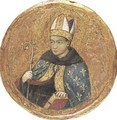 Saint Louis Of Toulouse - (after) Simone Martini