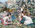 Spring In The Lake Wood - Edward Atkinson Hornel
