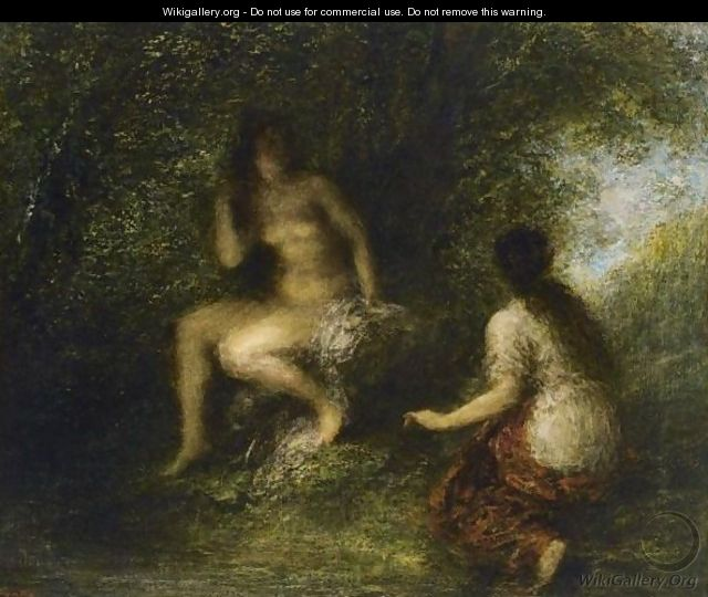 The Bathers - Ignace Henri Jean Fantin-Latour