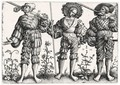 Three German Soldiers (Holl.73) - Daniel Hopfer