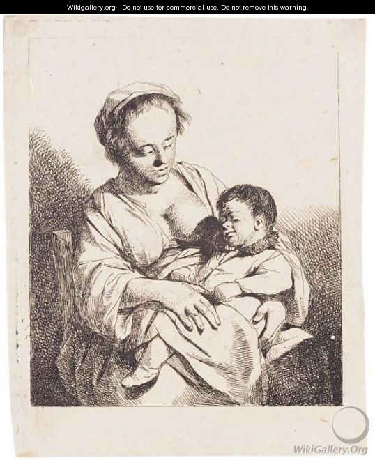 The Mother (Holl.28) - Cornelis (Pietersz.) Bega