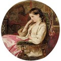 Portrait Of A Girl 3 - English School